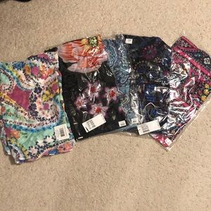 Vera Bradley scarves! New with tags! Lot of 5!